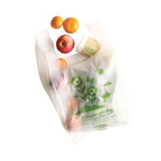 Compostable Bags made from cornflour order yours today from Primepac