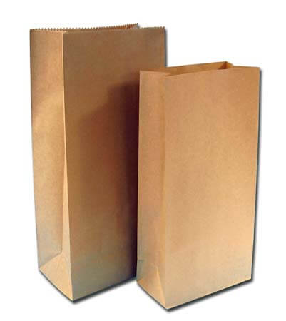 Heavy duty paper bags