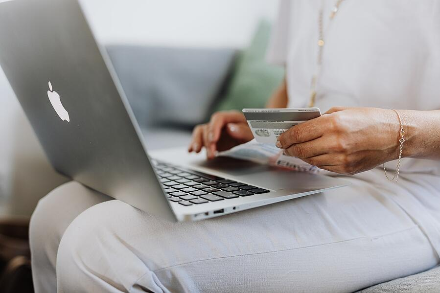The popularity of online shopping