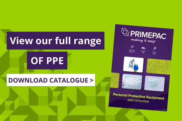 View our full range of PPE. Download catalogue