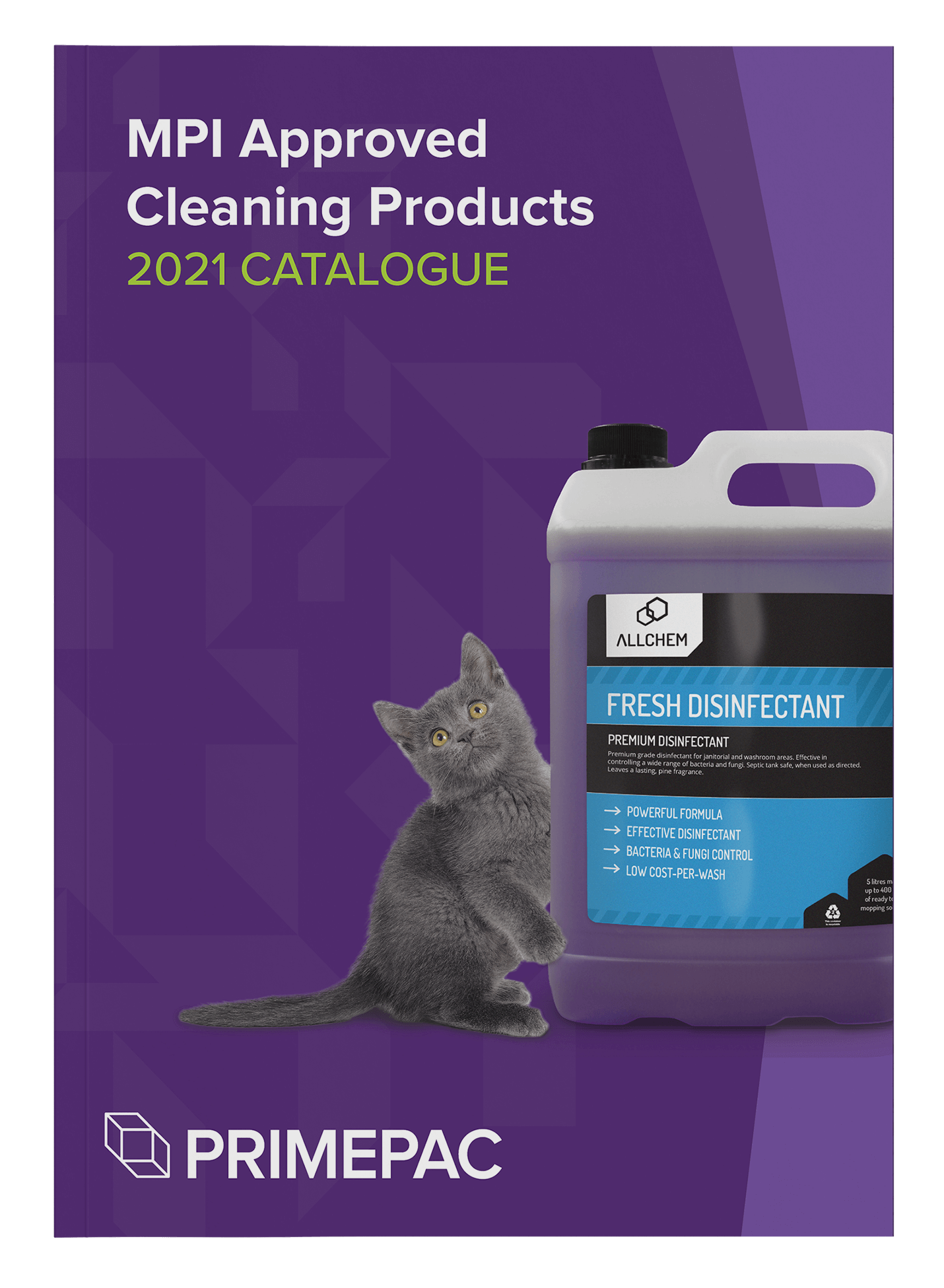MPI approved cleaning products catalogue