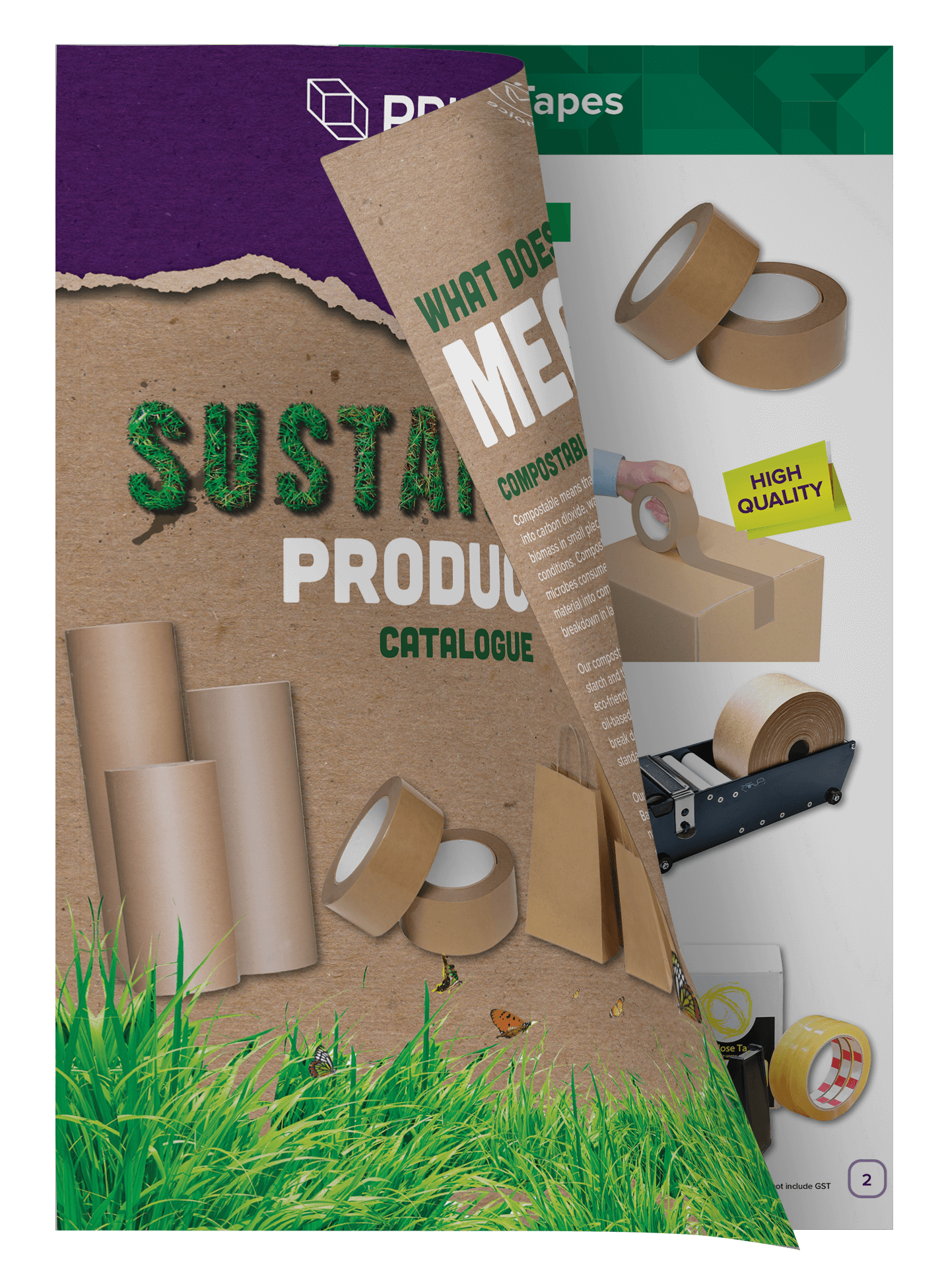 Sustainable products open catalogue