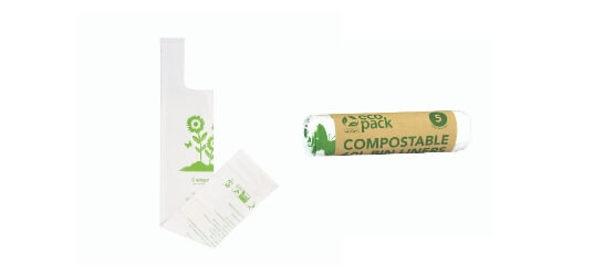 Shop compostable bin liners